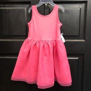 Old Navy Pink tutu dress multifabric 3T toddler